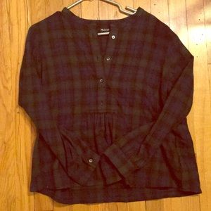 Madewell top - like new!